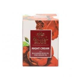 Nachtcrème Rose met arganolie - 50 ml